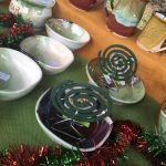 Pottery with Crochead at the Cardwell Markets